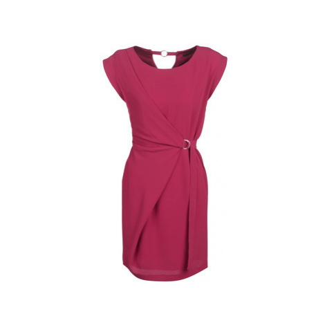 Ikks BN31015-84 women's Dress in Pink