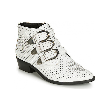 Bronx REZA women's Mid Boots in White