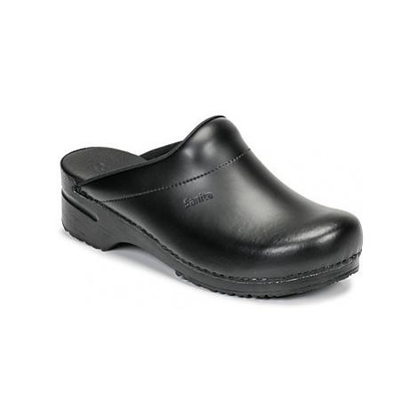Sanita KARL OPEN men's Clogs (Shoes) in Black