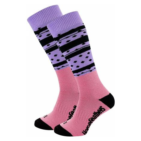 socks Horsefeathers Asha - Lilac - women´s