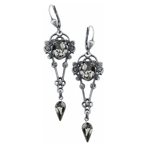 Krikor - Dark Passion - Earring set - silver-coloured