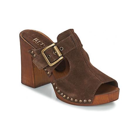 Replay SUGAR women's Mules / Casual Shoes in Brown