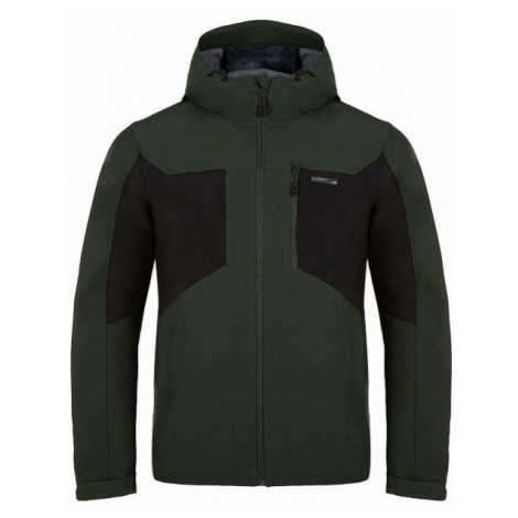 Loap LATRIC green - Men's softshell jacket