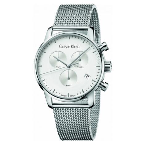 Mens Calvin Klein City Chronograph Watch K2G27126