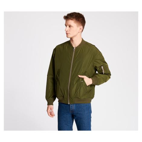 Green men's bomber jackets
