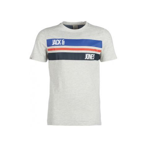 Jack Jones JORTILMAN men's T shirt in Grey Jack & Jones
