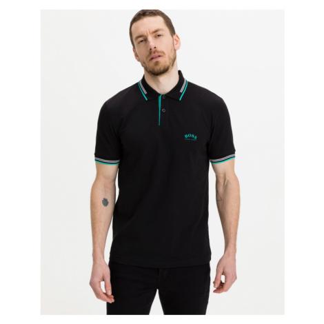 BOSS Paul Curved Polo t-shirt Black Hugo Boss