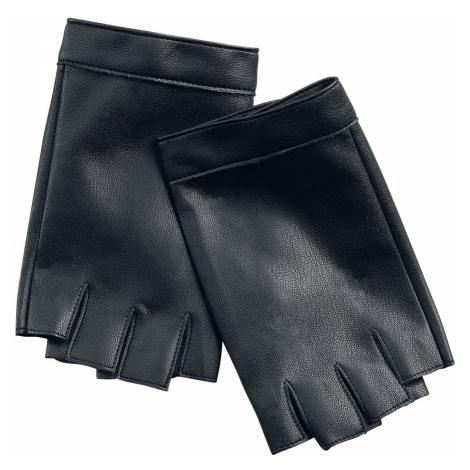 Rock Rebel by EMP Hands Up Fingerless gloves black