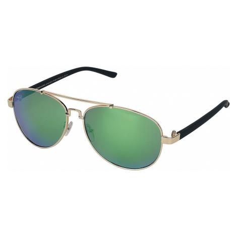 Urban Classics Mumbo Mirror Sunglasses gold coloured