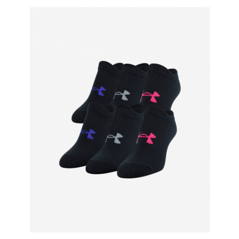 Under Armour Essentials Kids socks 6 pairs Black