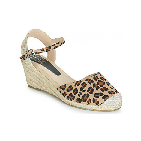 Spot on F2274 women's Sandals in Beige