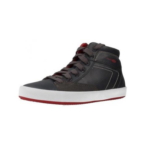Grey boys' sports shoes