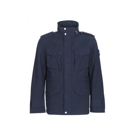 Timberland VNTG M65 men's Jacket in Blue