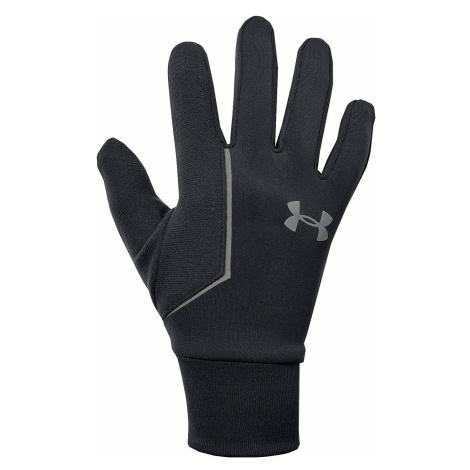 glove Under Armour Storm Run Liner - 001/Black/Black - men´s