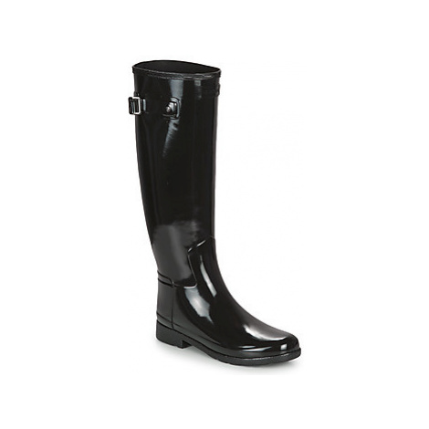 Hunter ORIGINAL REFINED GLOSS women's Wellington Boots in multicolour