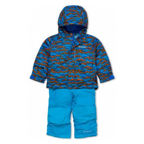 Columbia BUGA SET blue - Kids' winter set
