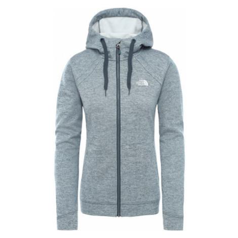 The North Face KUTUM FL ZP HOODIE grey - Women's hoodie
