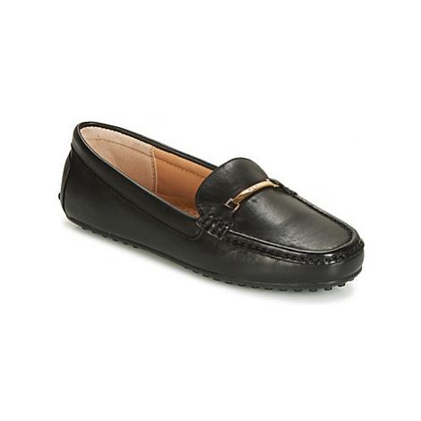 Lauren Ralph Lauren BRIONY women's Loafers / Casual Shoes in Black