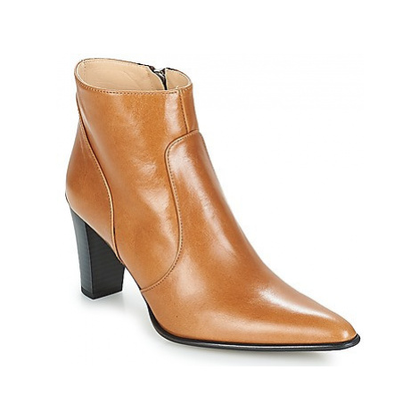 Perlato JAMAICA women's Low Ankle Boots in Brown