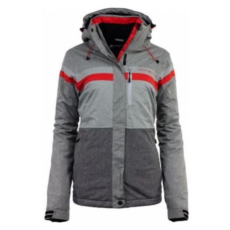 ALPINE PRO MASSA 4 grey - Women's skiing jacket