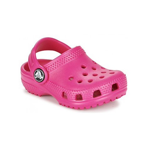 Crocs Classic Clog Kids girls's Children's Clogs (Shoes) in Pink