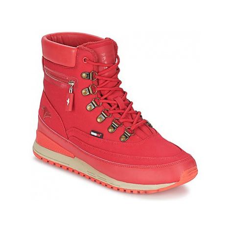 Kangaroos WOODHOLLOW LIGHT men's Mid Boots in Red