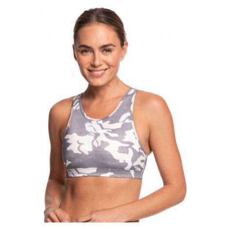 Roxy LETS DANCE BRA PRINTED grey - Women's sports bra
