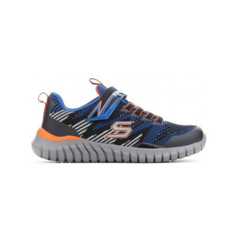 Skechers Spektrix Royal Black 97660L-RYBK girls's Children's Shoes (Trainers) in Multicolour