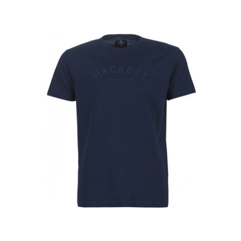 Hackett HM500335-597 men's T shirt in Blue