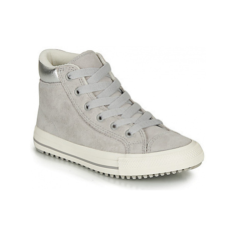 Converse CHUCK TAYLOR ALL STAR PC BOOT HI girls's Children's Shoes (High-top Trainers) in Grey