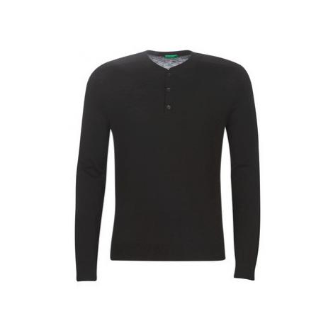 Benetton PATIDOU men's Sweater in Black United Colors of Benetton