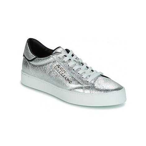 John Galliano FIUR men's Shoes (Trainers) in Silver