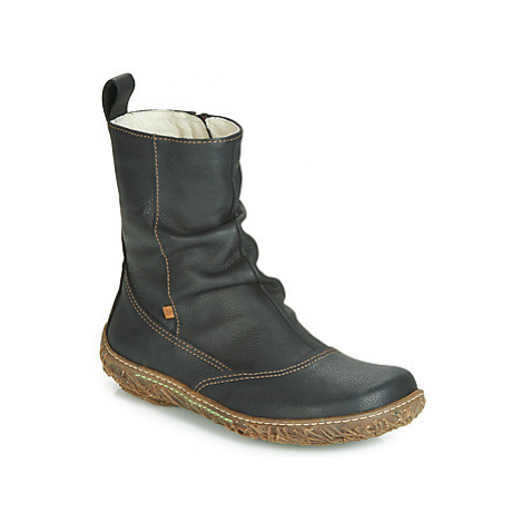 El Naturalista NIDO women's Mid Boots in Black