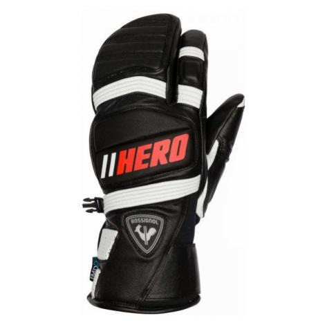 Rossignol WORLD CUP EXPERT LTH IMPR LOBSTER black - Men's ski gloves
