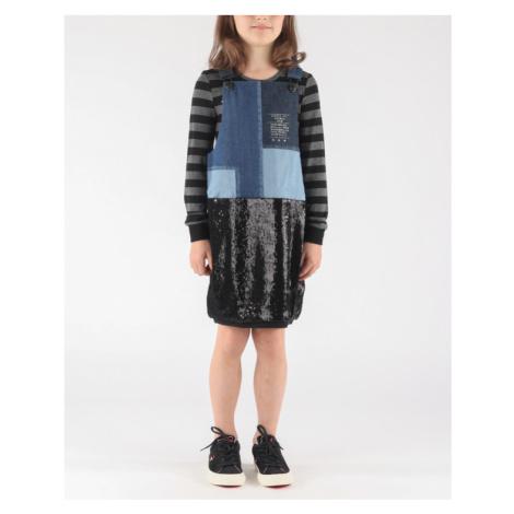 Diesel Dinas Kids dress Black Blue