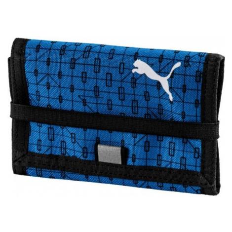 Blue men's wallets