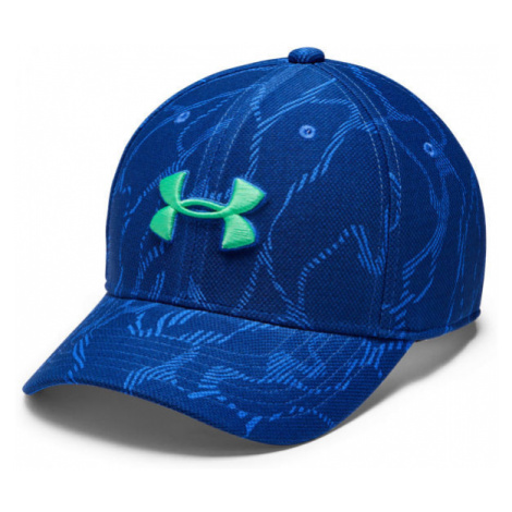 Under Armour BOY'S PRiNTED BLITZING 3.0 blue - Kids' hat