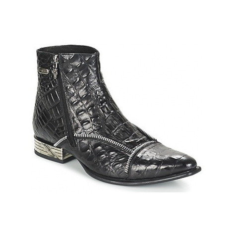 New Rock GRAVES men's Mid Boots in Black