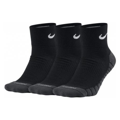 Nike Everyday Max Cushioned Training Ankle Socks (3 Pairs) - Black