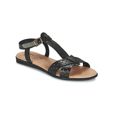 Casual Attitude GIERO women's Sandals in Black