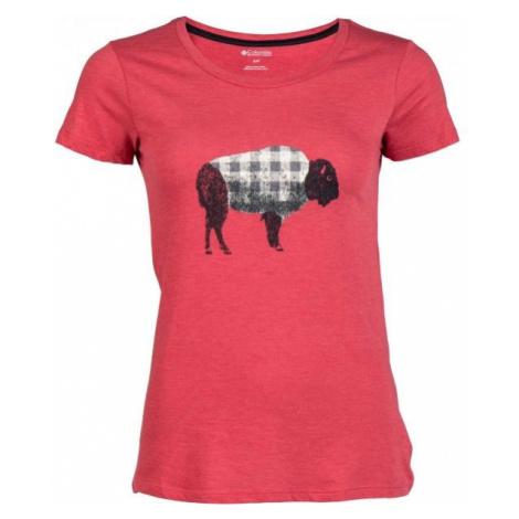 Columbia OUTER BOUNDS SS TEE black - Women's T-shirt