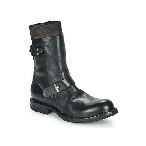 Moma CUSNA NERO women's Mid Boots in Black