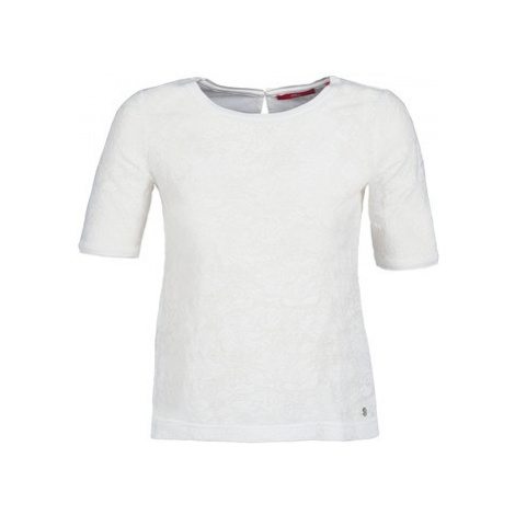 S.Oliver FEDETTE women's T shirt in White