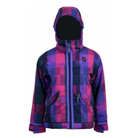 Scott CRYSTA G pink - Girls' ski jacket
