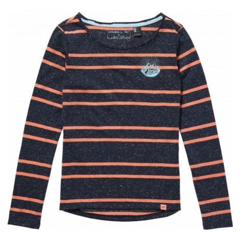 O'Neill LG MOUNTAIN GAZE L/SLV T-SHIRT dark blue - Girls' T-shirt