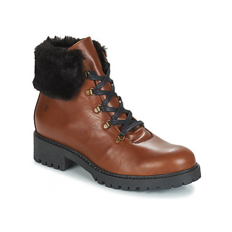 Casual Attitude JENO women's Mid Boots in Brown
