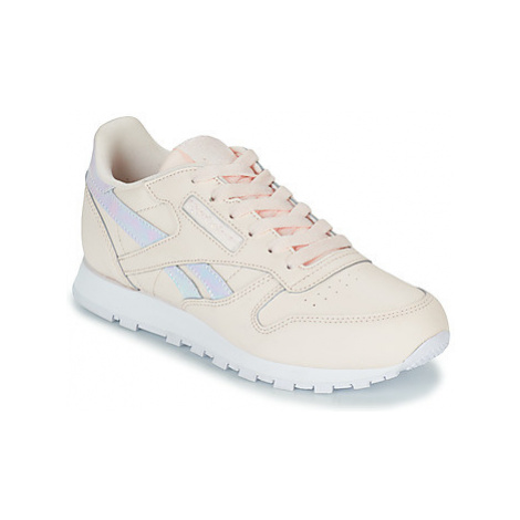 Reebok Classic CLASSIC LEATHER girls's Children's Shoes (Trainers) in Pink