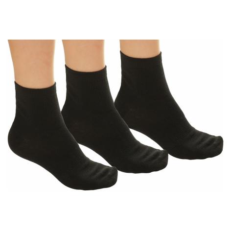 socks Outhorn SOM601/3 Pack - Black/Black/Black - men´s
