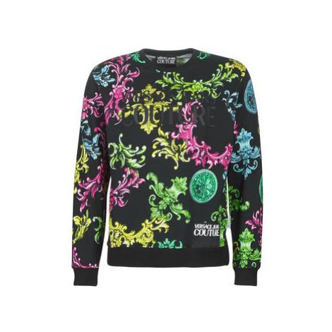 Versace Jeans Couture UUM302 ARTW11 FLOCK men's Sweatshirt in Multicolour