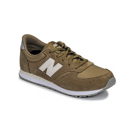 New Balance YC420 girls's Children's Shoes (Trainers) in Green
